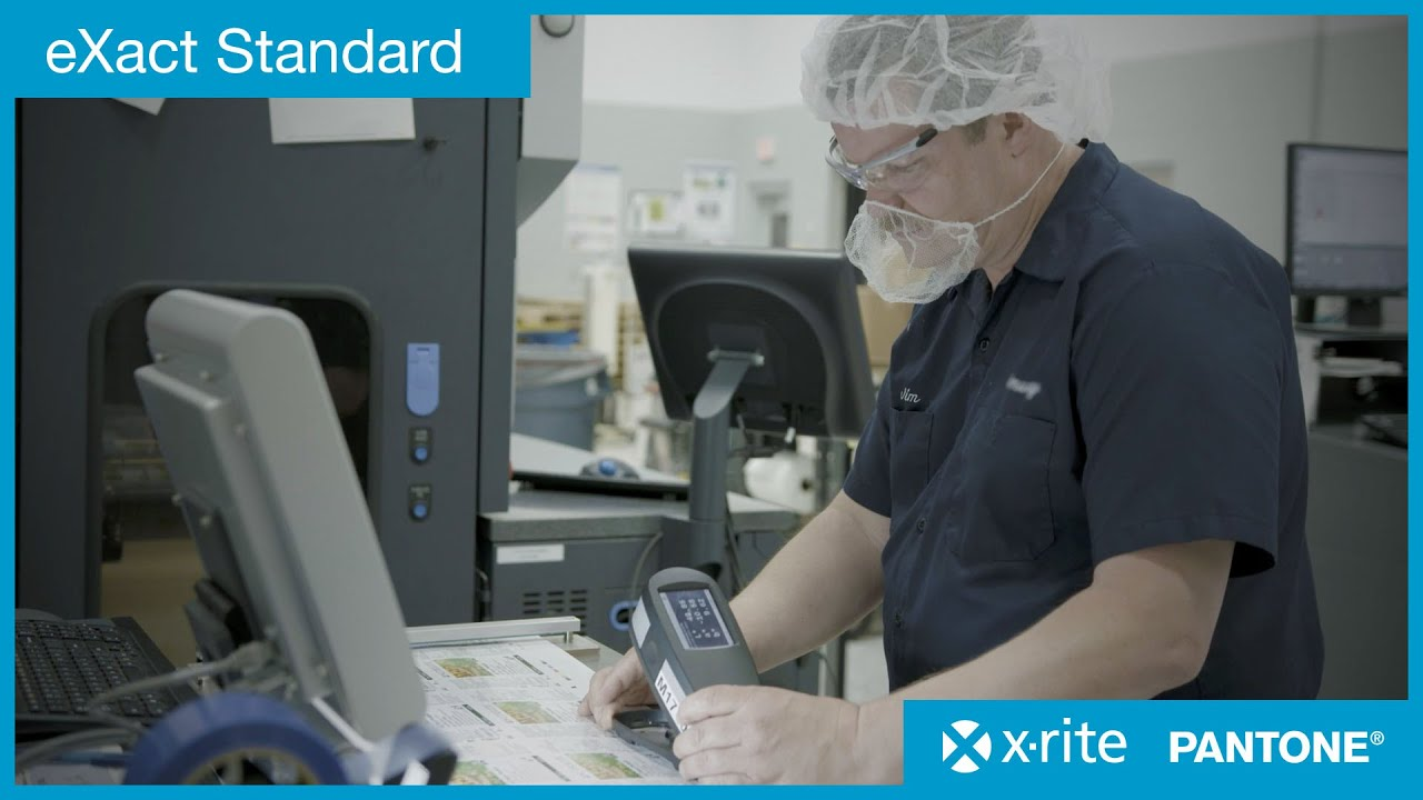 Learn about the X-Rite eXact Standard Spectrophotometer