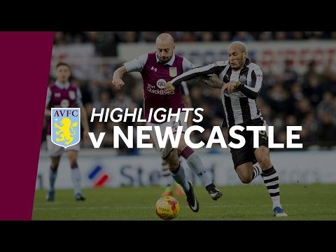 Newcastle 2-0 Aston Villa   Highlights