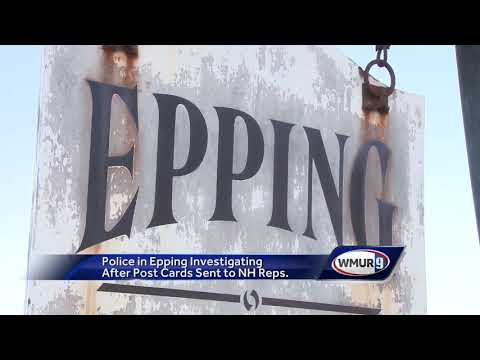 Police in Epping investigating after postcards sent to NH representatives