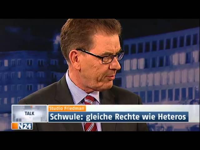 Studio Friedman: Gleichstellung homosexueller Lebenspartnerschaften (Sendung vom 14.03.2013)