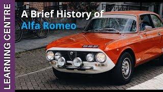 A Brief History of Alfa Romeo | OSV Learning Centre