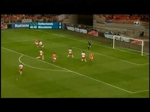 Netherlands - Macedonia 4-0 All Goals & Highlights [High Quality]