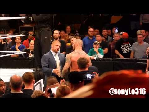 WWE SURVIVOR SERIES 2013 ENDING AND POST SHOW 11 24 13