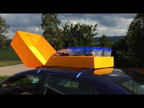 DIY Car Top Carrier