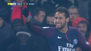 Neymar vs Stade Caen (H) 17-18 – Ligue 1 HD 1080i by Guilherme