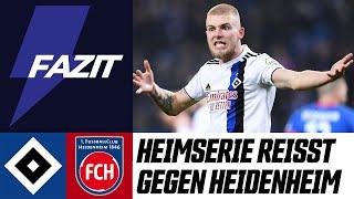 HSV-Heimserie reißt gegen Heidenheim | Scholles Blitzfazit zu #HSVFCH | 16. Spieltag