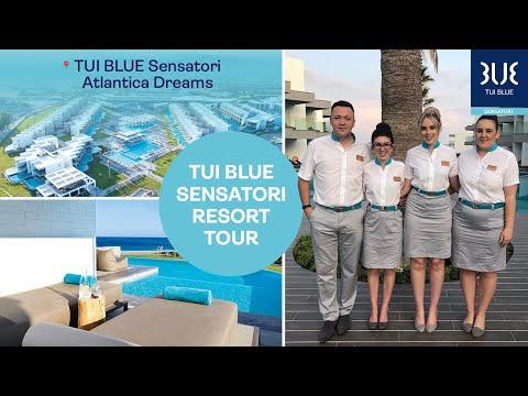 TUI SENSATORI Atlantica Dreams Resort and Spa   Resort Tour