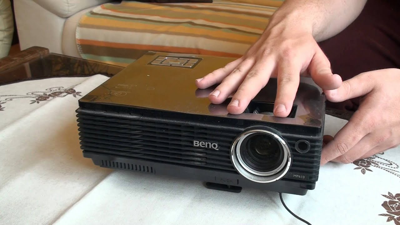 benq mp610 projector youtube rh youtube com Canon MP610 Ink Projector BenQ MP610