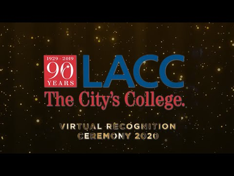 Los Angeles City College Virtual Recognition Ceremony 2020
