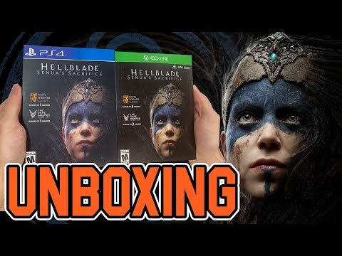 Hellblade Senua's Sacrifice (PS4/Xbox One) Unboxing!!