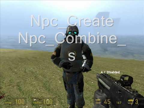 Half Life 2 Console Commands ★★★★★