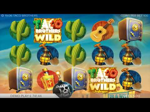 Taco Brothers Online Slot by Elk Studios - Free Spins Feature!