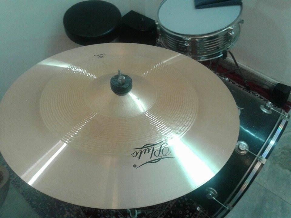 Sound Check : Pluto Tk - 16 Bronze Crash Cymbal