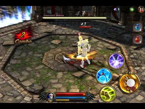 Eternity Warriors 3 Monk Gameplay