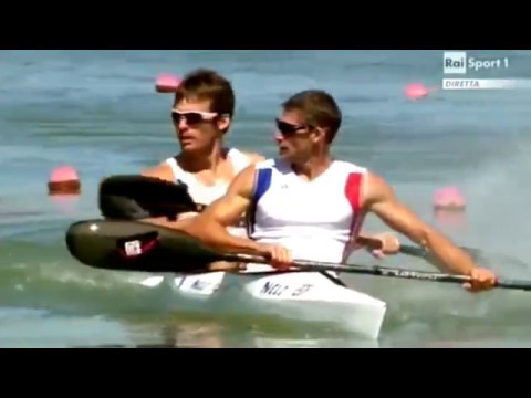 2011 World Championships, Szeged Hungary, Men's K-2 200m Final A. (16:9)