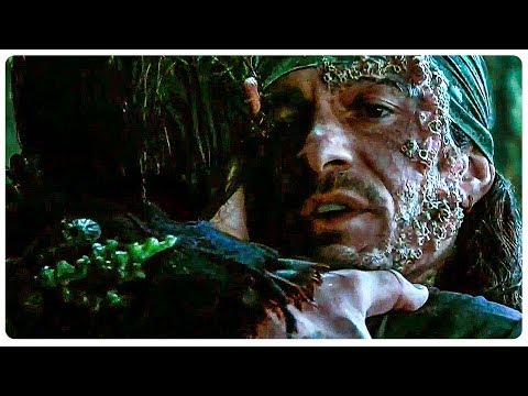"PIRATES OF THE CARIBBEAN 5 ""Will Turner Meets His Son"" Clip + Trailer (2017) Johnny Depp Movie HD"