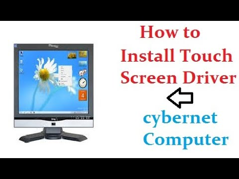 Touch Driver Installing Cybernet PC& Download Egalaxtouch Software