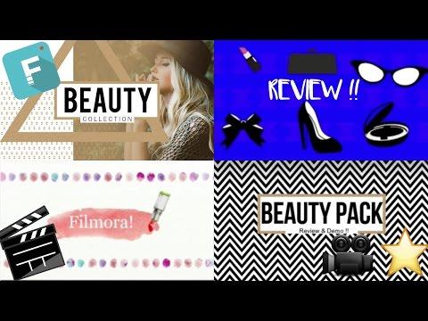 Filmora Editing Software   Beauty...