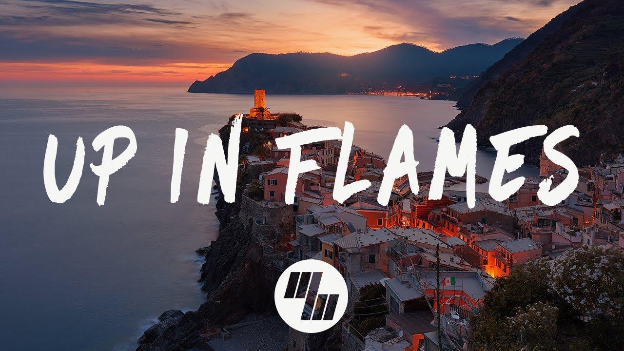 Sinner's Heist - Up In Flames (Lyrics / Lyrics Video) feat. Emma Sameth