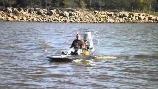 mini airboat test two