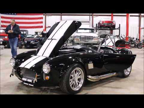 1965 Shelby Cobra Black