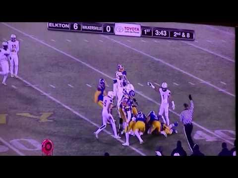 2016 MD 2A Title Game Walkersville vs. Elkton