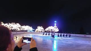 싱크로 엔젤스 하얏트호텔 아이스링크 공연 2017