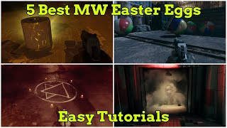 5 Best Modern Warfare Easter Eggs, Easy Tutorial (Cargo, Aisle 9, Trench, Live Stock, Cheshire Park)