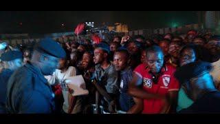 Arrivée triomphale de WERRASON au FESPAM à Brazzaville, bayambi ye lokola ROI, ya boye ezala te