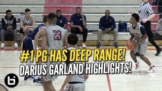Darius Garland Has DEEP Range! #1 PG Class of 2018 Highlights!