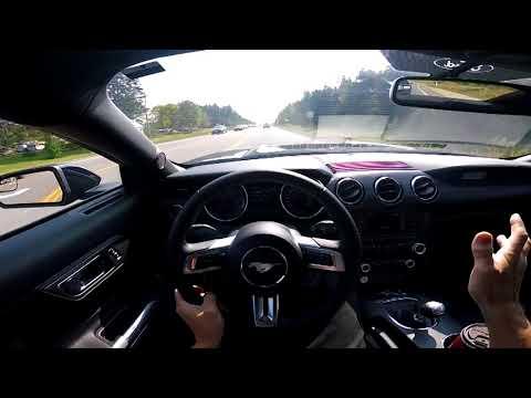 2017 Ford Mustang V6 300 HP -- POV -- Road Trip to Buffalo, New York