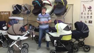 видео Детская коляска Anex Sport 3 в 1