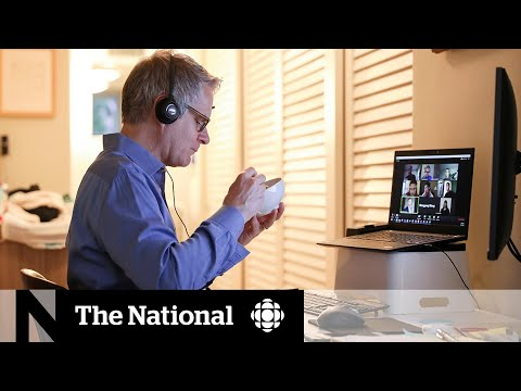CBC News: The National: Makeshift home offices taking physical toll