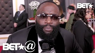 Rick Ross & More Send Love To Kobe & Gianna Bryant's Family After Tragic Passing   BET@ 2020 GRAMMYs
