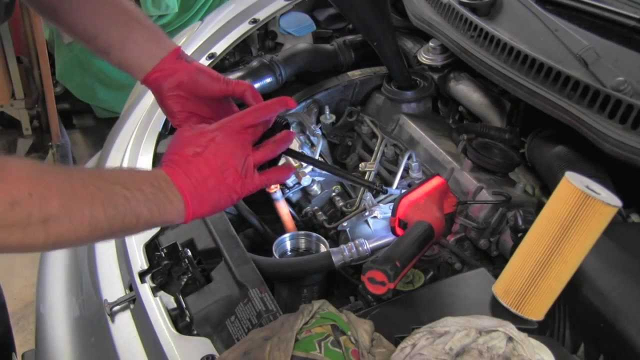 Volkswagen Tdi Engine Oil Change