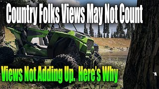 Off roading - Far Cry 5  - 36k subs but low views - here