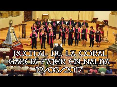 Recital de la Coral Garcia Fajer en Nalda 2017