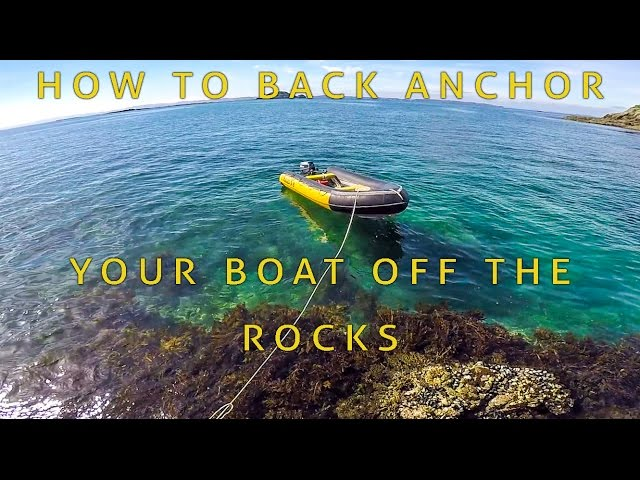 How to land on the rocks - the back anchor system
