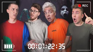 Last to SCREAM in Haunted House Wins! - Challenge
