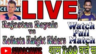 Live Cricket Scorecard RR vs KKR 12th Match | WATCH FULL MATCH | SUBCRIBE MY CHANNEL|