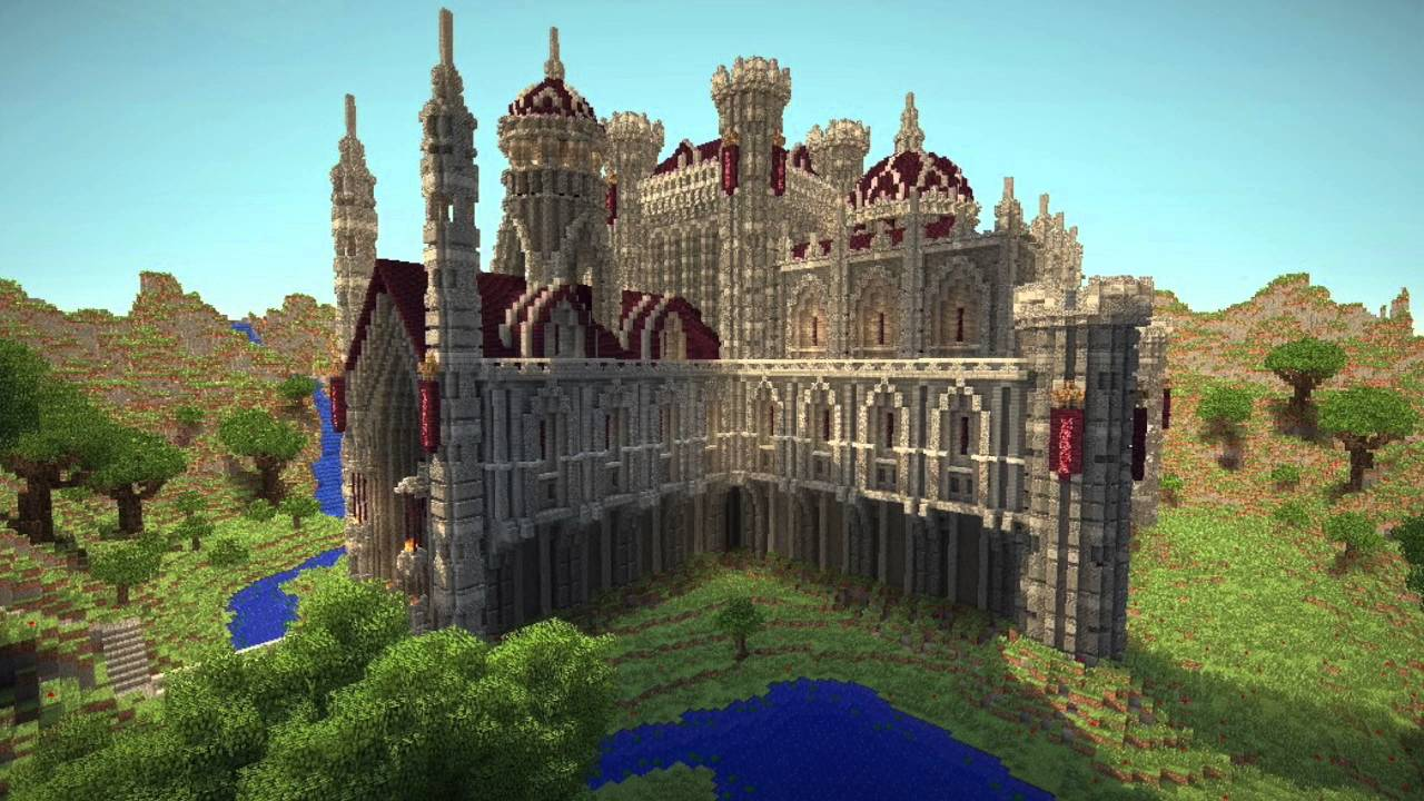 Top 20 Minecraft Castles 2016 - YouTube