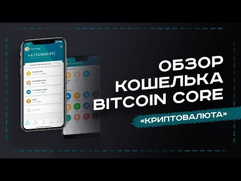 ОБЗОР КОШЕЛЬКА BITCOIN CORE - УРОК №8. ОБУЧЕНИЕ КРИПТОВАЛЮТЕ