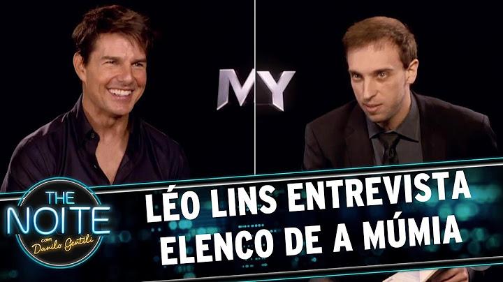 lo lins entrevista elenco de a mmia  the noite 060617