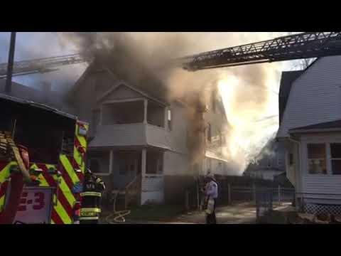 Fire On Dickinson Street In Springfield