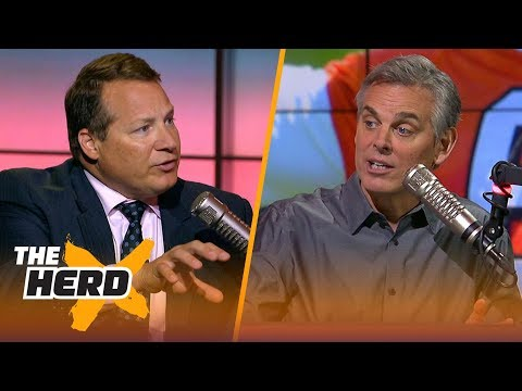 Eric Mangini talks Baker Mayfield, Browns and Sam Darnold | NFL | THE HERD