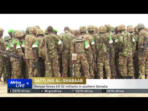 Kenyan forces kill 52 al-Shabaab militants in southern Somalia