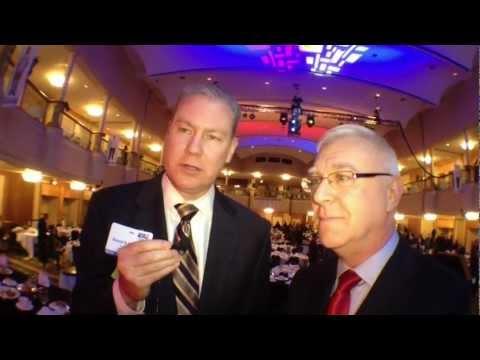 Rick Chiricosta & Daniel Walsh At United Way Amnnual Meeting