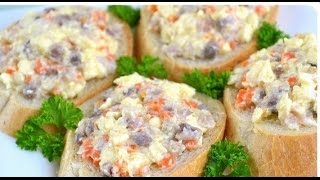Ложная икра! Ложная икра из сельди и моркови. Паштет из селедки. Рыбный паштет для бутербродов.