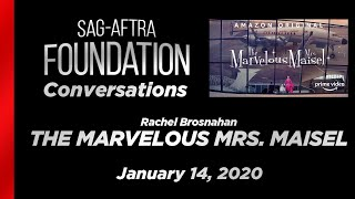 Conversations with Rachel Brosnahan of THE MARVELOUS MRS. MAISEL