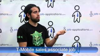 T Mobile Interview - sales associate